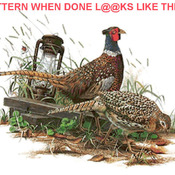 Unique Hand Made pdf Sewing Dmc Crafts Ring Necked Pheasant Cross Stitch Pattern***LOOK***X ***INSTANT DOWNLOAD***