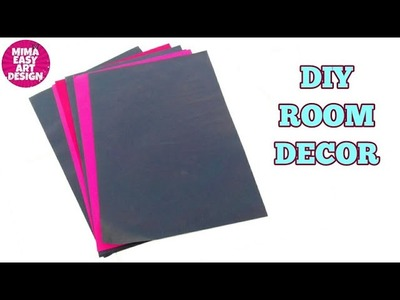 Best paper carft idea |easy and quick decoration using paper |wall hanging |west mathi best