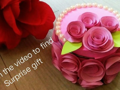 DIY gift box ideas. mothers day.anniversary.birthday.friendship day gifts.watch and find the gift