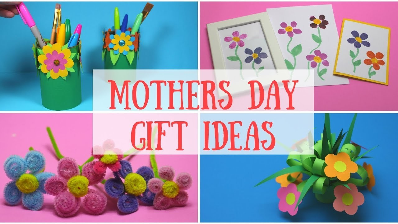 DIY Mothers Day Gift Ideas | Mothers Day Crafts for Kids