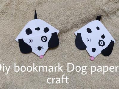 Dog bookmark DIY | #Artandcraft with paper