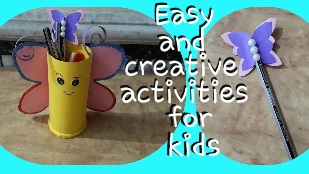 Easy and creative summer activities for kids | 2 awesome paper crafts for kids | question bank
