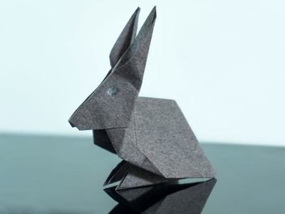 Easy Way to make a paper Bunny | Origami Rabbit