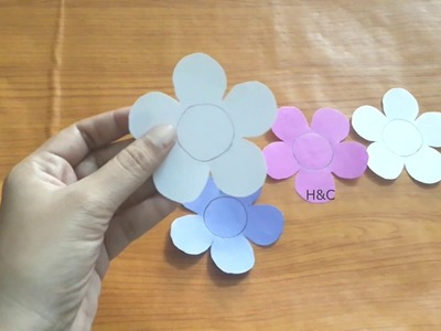 Flower making for Mothers Day | Easy and Simple paper crafts | summer crafts ideas for kids