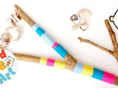 Fun DIY Musical Instrument - Beach Crafts for Kids
