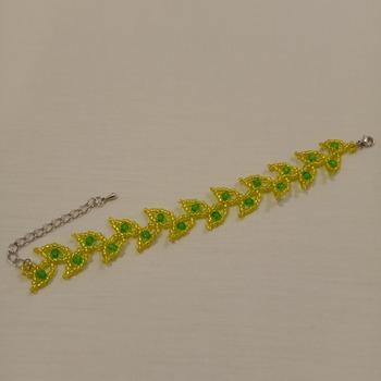 Handmade Leaf Bracelet