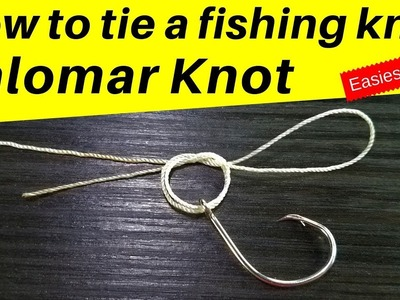 How to Tie the Palomar Fishing Knot