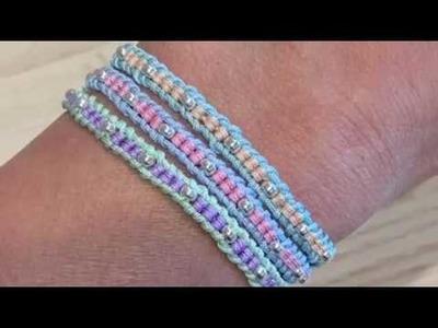 Knots and Ladders:  DIY Ladder Bracelet