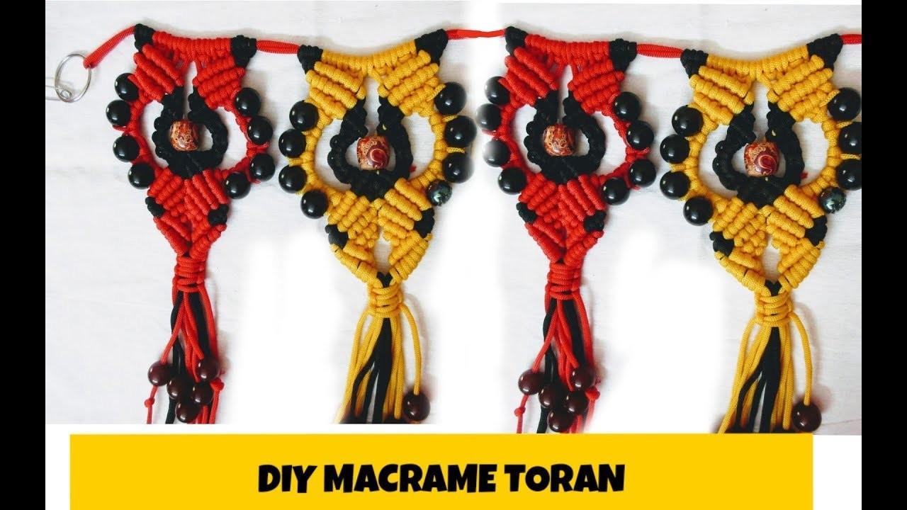 Simple Macrame toran.diy.new design door toran