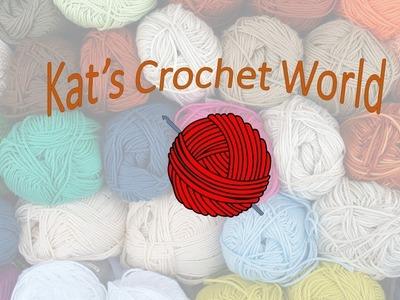 Single crochet dishcloth and stitch tutorial