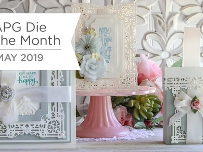 Spellbinders May 2019 Amazing Paper Grace Die of the Month – Nostalgic Serenade Card Frame
