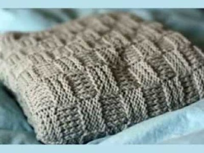 Basket Weave Baby Blanket Pattern