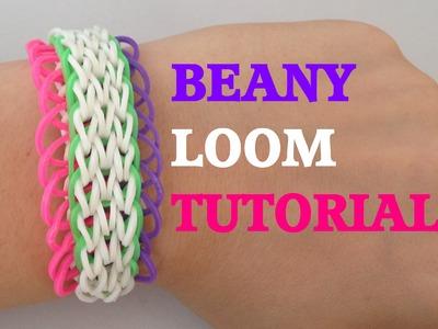 BEANY (Original Desgin) Rainbow Loom Bracelet Tutorial l JasmineStarler