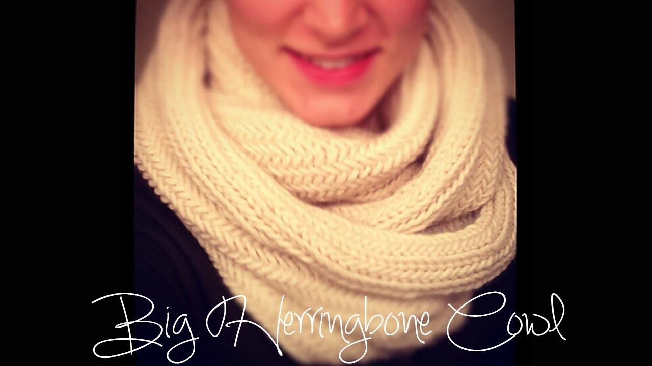 Big Herringbone Cowl