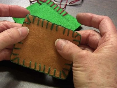 Blanket Stitch - How to do the blanket stitch around corners