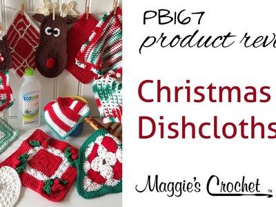 Christmas Dishcloths Pattern Product Review - PB167