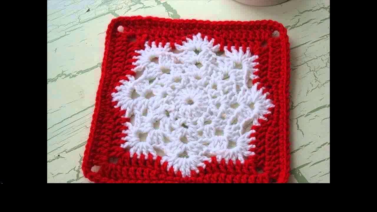Crochet snowflake ideas