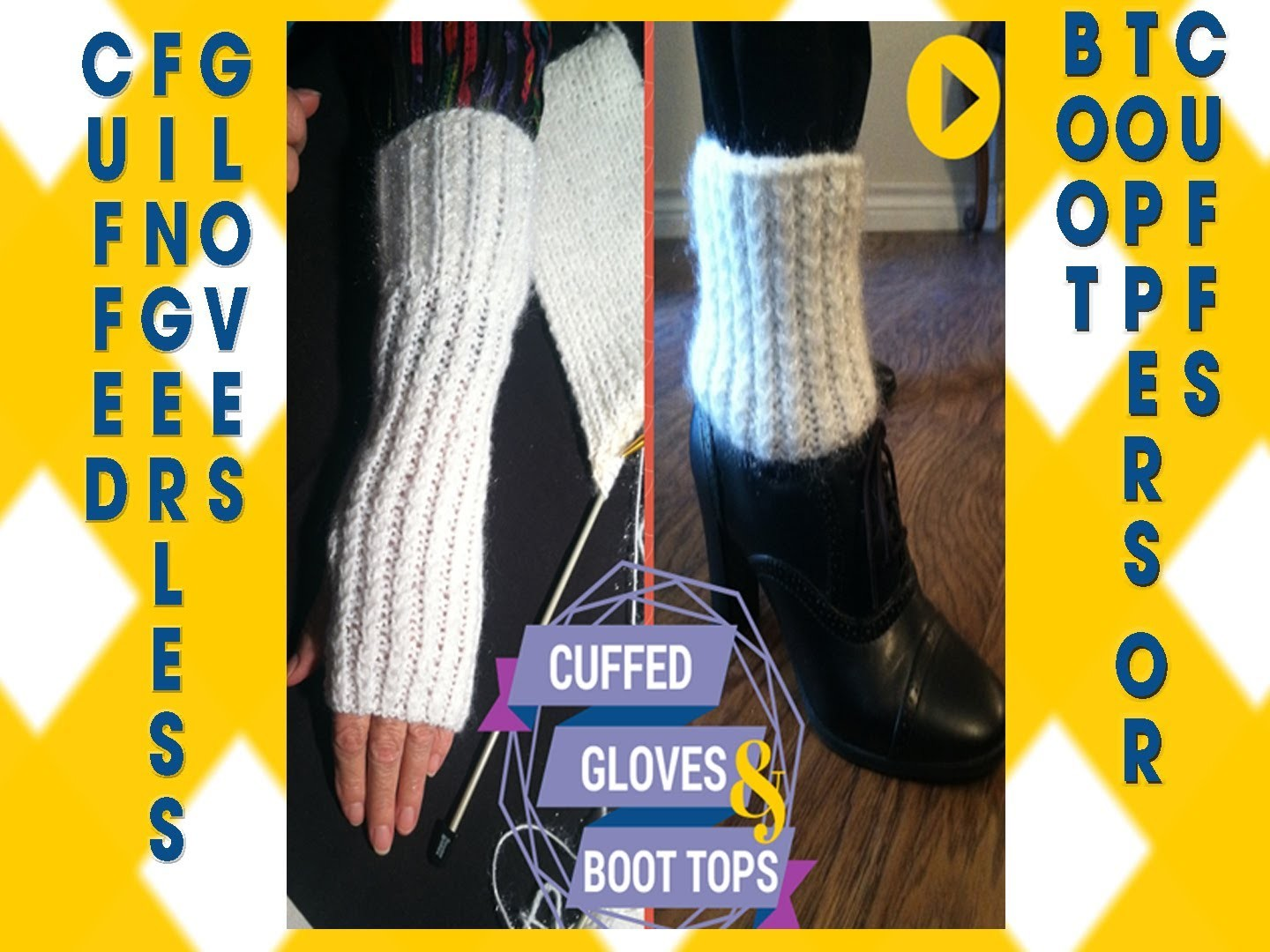 Cuff Gloves and Boot Toppers |  Fingerless Gloves and Leg Cuffs