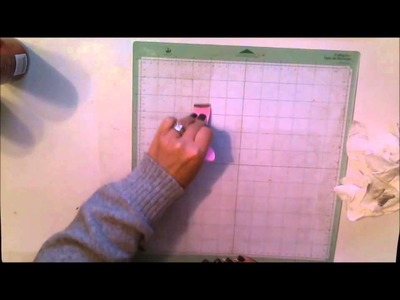 Day 26: How to clean, restick and reuse your Cricut cutting mat