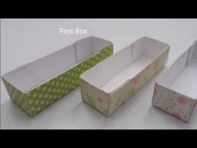 DIY Mini Macaroon and Truffle Box for Polymer Clay