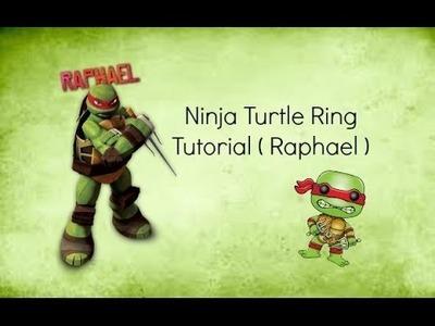 DIY Ninja Turtle Ring | Polymer Clay | Rings Handmade