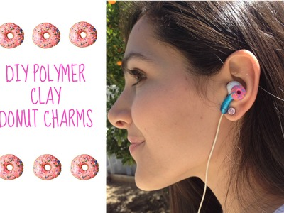 DIY Polymer Clay Donuts