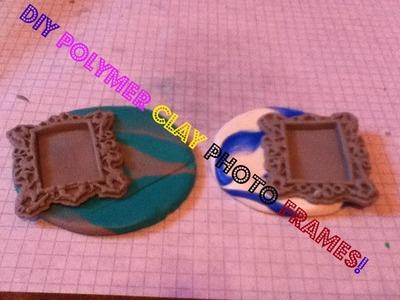 DIY Polymer Clay Photo Frame Tutorial