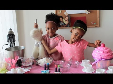 ✿‿✿ How to make Delicious Unicorn Rainbow Cupcakes