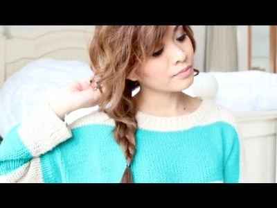 Easy Messy Side Braid Tutorial