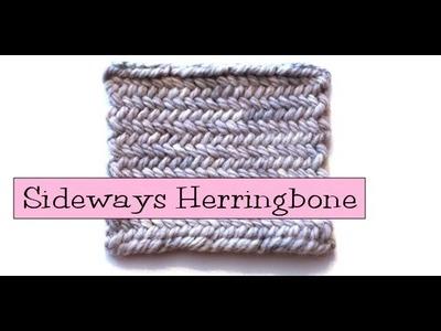 Fancy Stitch Combos - Sideways.Horizontal Herringbone