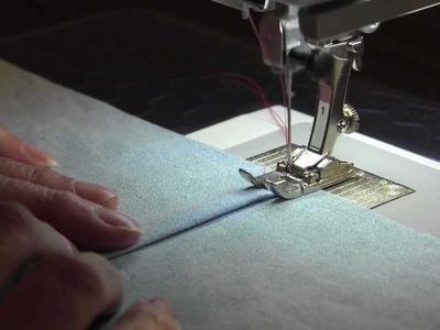 Flat Felled Seam: How to Sew a Flat Felled Seam