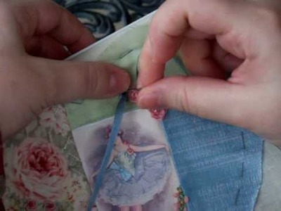 French Knot Loop Flower in SRE