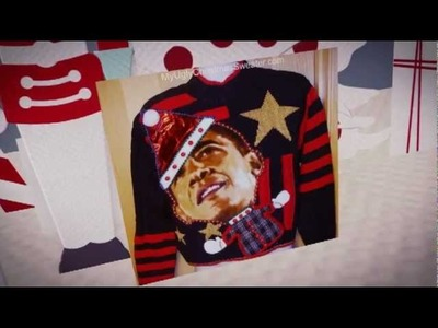 Get Your Ugly On! Hideously Ugly Christmas Sweaters Song - Ugly Christmas Sweater Party