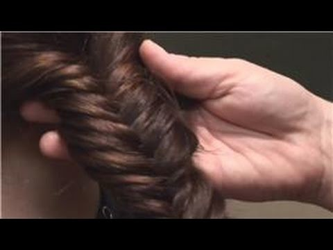 Hairstyles : Doing the Fishbone Hair Braid