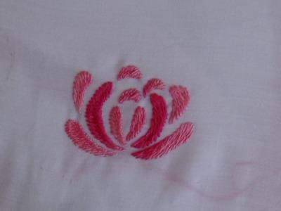 Hand Embroidery: Romanion Stitch