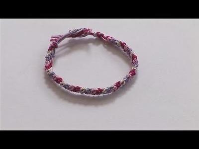 How To Create Friendship Bracelet Step By Step