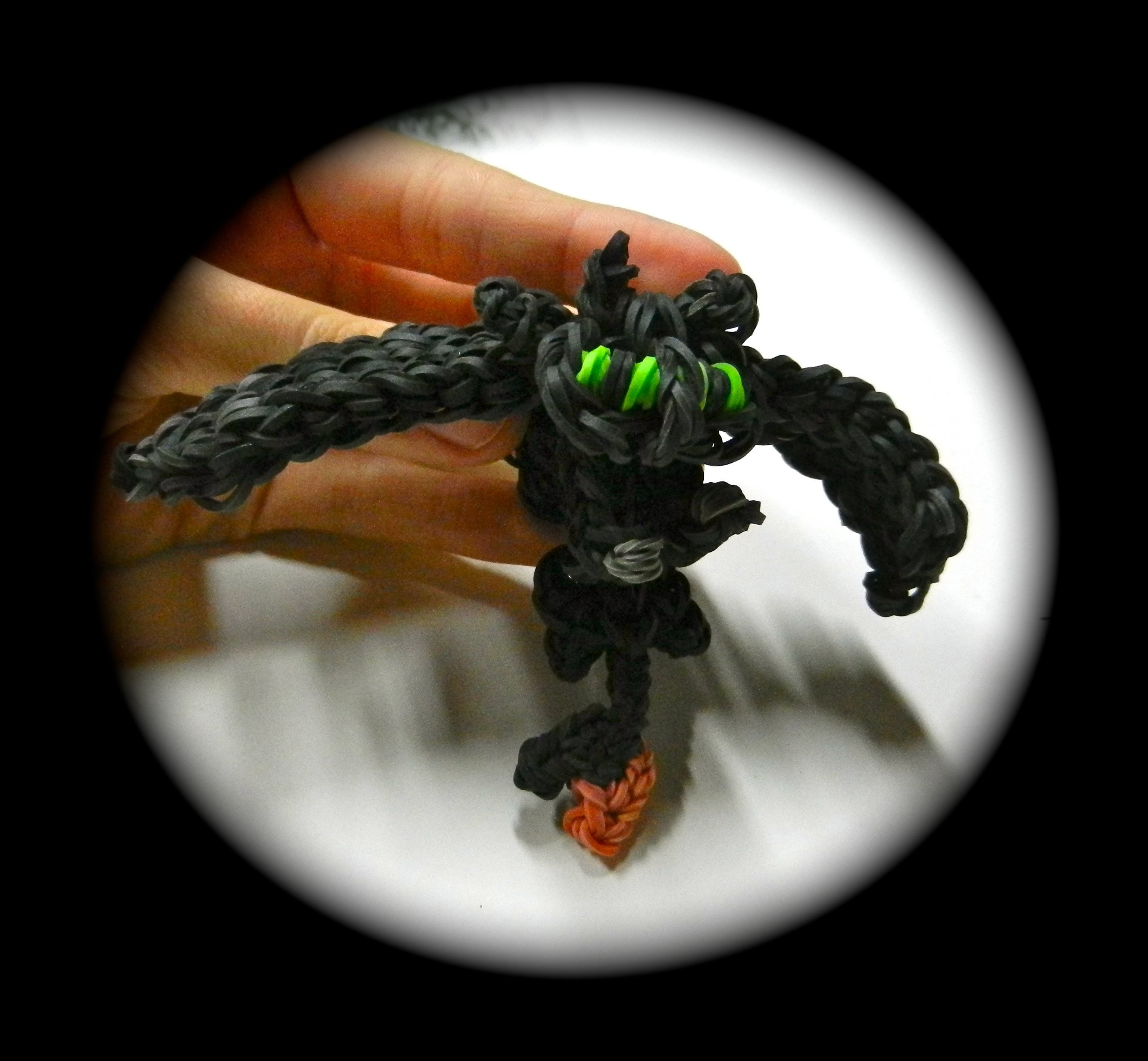 How to Loom Your Dragon (Toothless.Nightfury Baby)