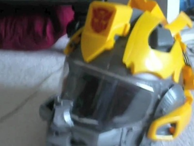 How-to: Make a Custom Transformers Bumblebee Motorcycle helmet