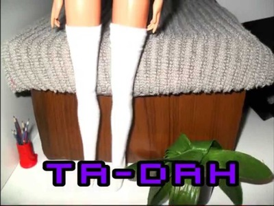 How to make a pair of Doll Socks