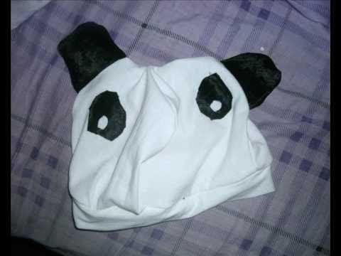 How to make a panda hat.