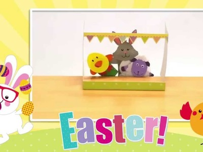 How to make Easter finger puppets
