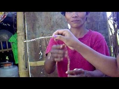 How to Make Handmade Abaca Fiber Rope