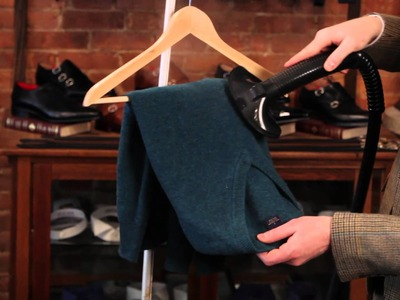 How to Remove Wrinkles from a Cashmere Sweater : Fashionable Men
