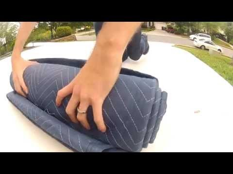 How to roll a sound blanket burrito