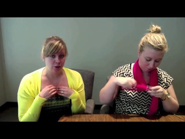How To: Scarf Tying with Scarf Jewelry