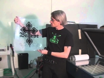 How To Screen Print: Film Positive Tips