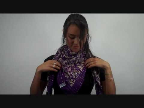 How to Tie a Scarf: Muffler