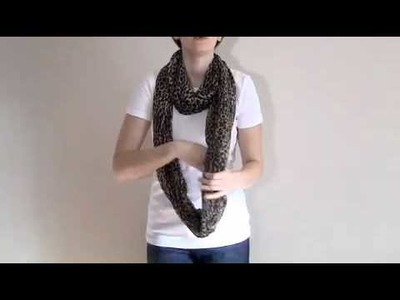 How to Tie a Scarf: The Infinty Wrap