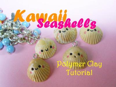 Kawaii Seashell ~ Conchiglia Kawaii (Polymer Clay Tutorial) | FairyFashionArt