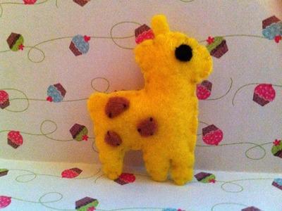 ❤  Making a Cute Giraffe Plushie ^__^ ❤